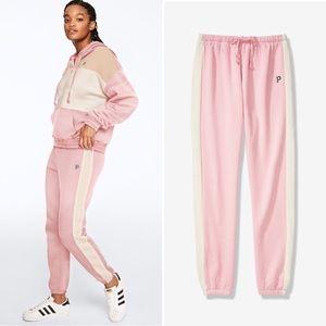NIP PINK Victoria's Secret Colorblock Classic Pant